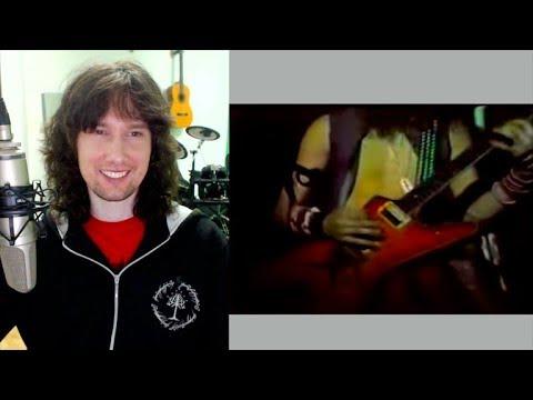 British guitarist reacts to metal legend Dimebag Darrell playing aged 18!!!