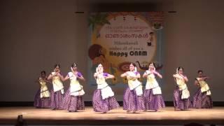 Nihonkairali ONAM 2014 - Semi Classical Group Dance by Nrithya Natya Academy