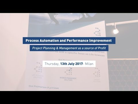 """Process Automation & Performance Improvement"" Workshop - Arithmos @TAG Milano 13.07.17"