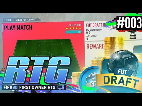 MY FIRST DRAFT ON P.C! - PC ROAD TO GLORY Ep.03 #FUT20 Ultimate Team