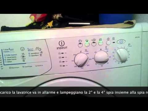 Lavatrici Ariston - Hotpoint - Indesit. Errore F05