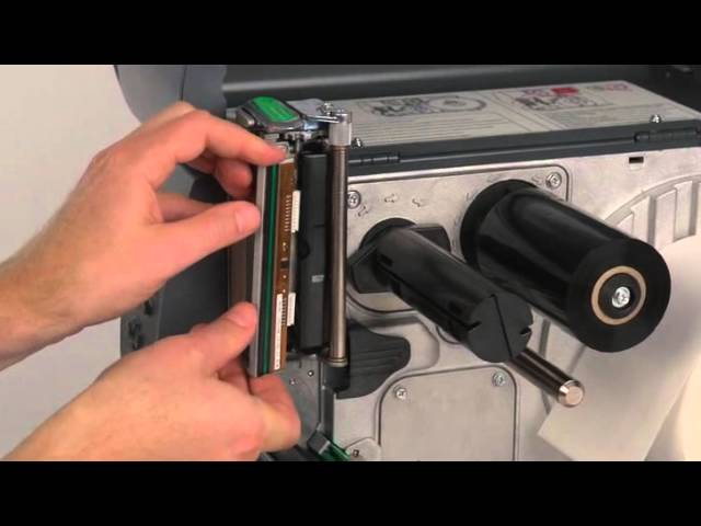 Changing the Printhead on a Datamax-O'Neil M-Class Barcode Label Printer #1