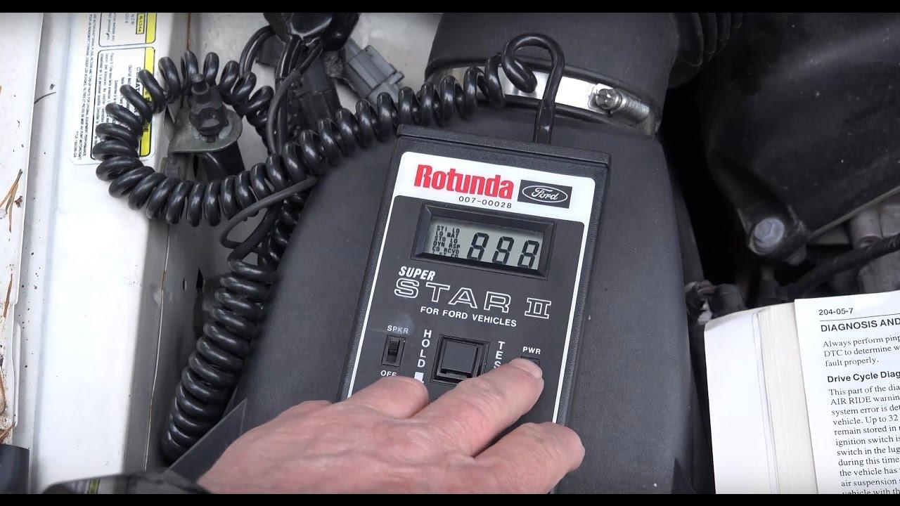 medium resolution of 1998 lincoln mark viii air ride auto test