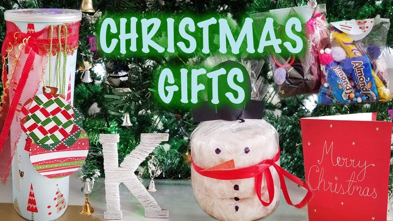 Diy Christmas Gift Ideas Quick And Easy Budget Friendly Secret Santa Kreena Desai