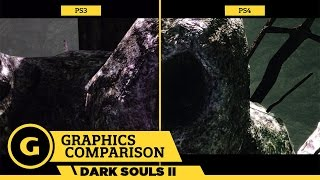 Dark Souls II Scholar of the First Sin - Graphics Comparison
