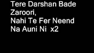 Tere Darshan Bade Jaroori Full Song (Lyrics)
