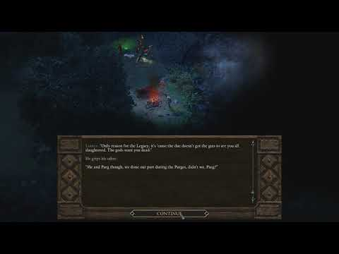 Matt, Liam and Sam's interaction in Pillars of Eternity