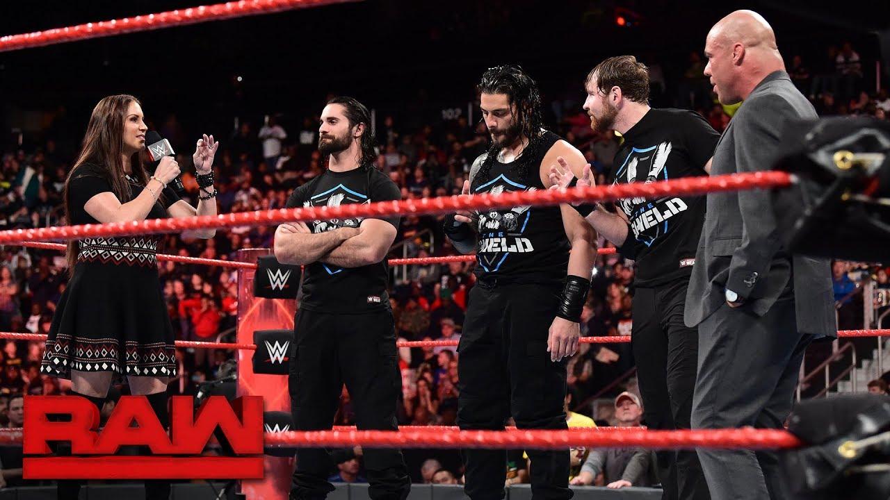 Download Stephanie McMahon questions Kurt Angle's leadership: Raw, Nov. 13, 2017