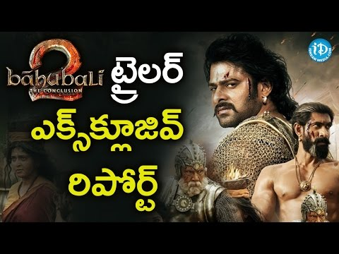 Thumbnail: Baahubali 2 The Conclusion Trailer Special Report || Tollywood Tales