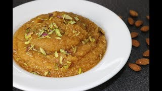 Badam halwa recipe | how to make almond halwa | almond halwa | Priyanka's Veg. Kitchen recipe