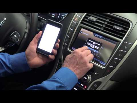 How To Pair A Smartphone To A Ford Or Lincoln Via SYNC System