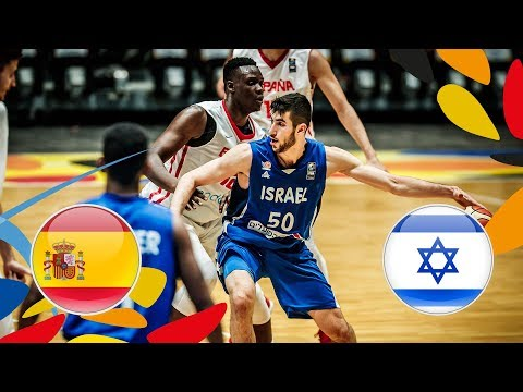 Spain v Israel - Full Game - Quarter-Finals - FIBA U20 European Championship 2018