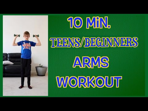 ARMS exercise Kids workout at home kids/teens����