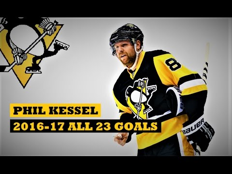 Phil Kessel (#81) ● ALL 23 Goals 2016-17 Season (HD)