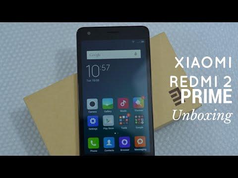 Xiaomi Redmi 2 Prime Unboxing - Made in India Smartphone