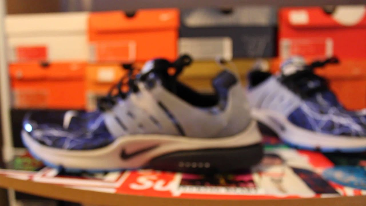bb6be8dec73 Nike Air Presto QS Lightning Trouble at Home review - YouTube