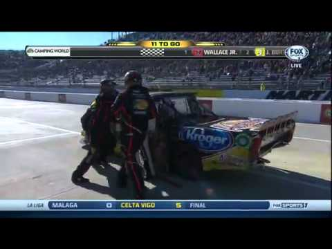 Kevin Harvick & Ty Dillon Crash, Fight, Interviews