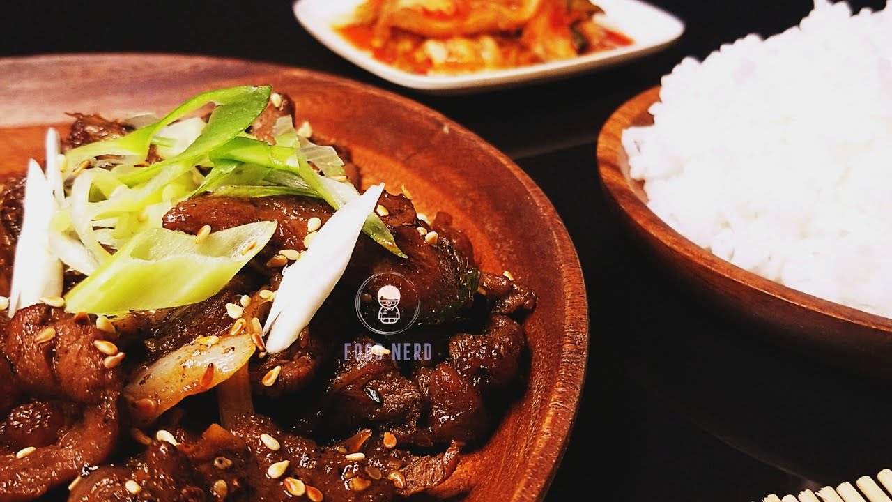 Beef Bulgogi    Korean Beef Barbeque - YouTube