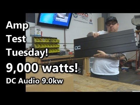 Amp Test Tuesday - DC Audio 9.0k - 9,000 Watts - SMD AD-1 Amp Dyno (Results)