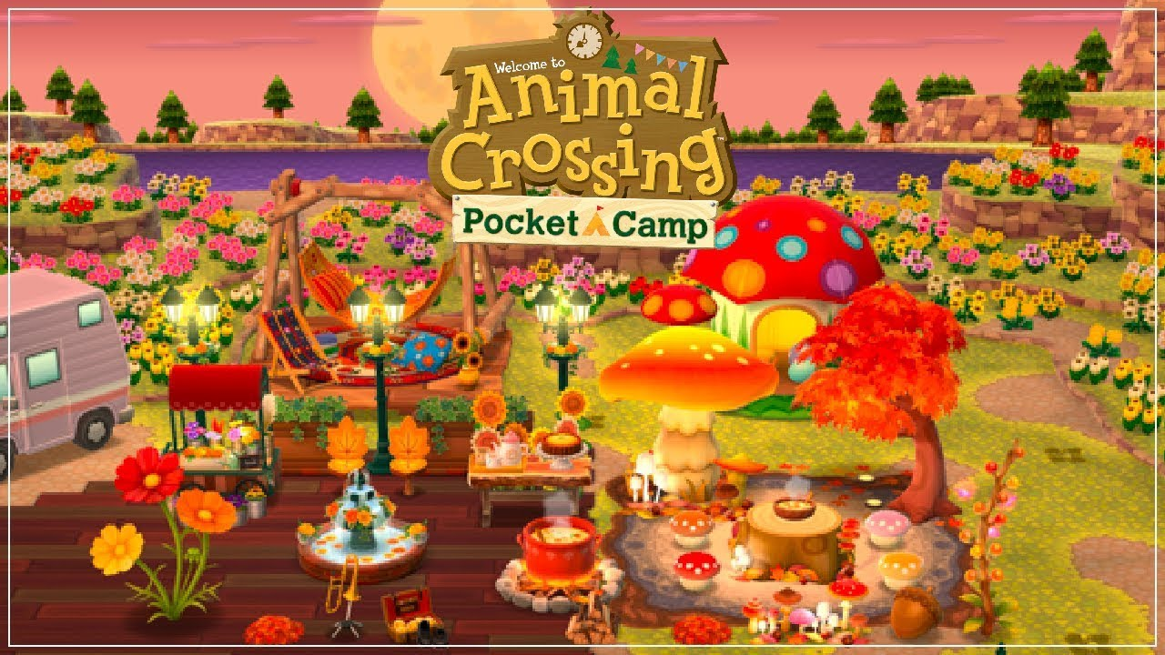 animal crossing pocket camp flowers guide