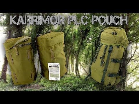 Karrimor sf 12ltr plce pouches. Unboxing and review.