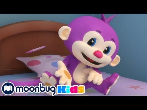 Laugh And Learn With Fisher Price - Messy Little Monkey + More! | Educational Cartoons For Kids