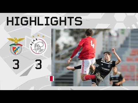 Highlights Benfica O19 - Ajax O19 (Youth League)
