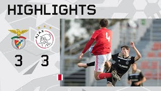 Highlights Benfica O19 - Ajax O19 (Youth League)