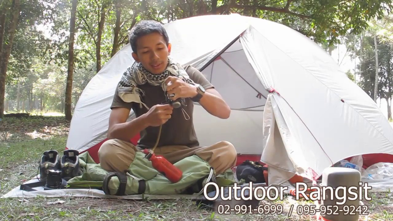 Repeat เตา msr whisperlite by OUTDOOR RANGSIT CHANNEL