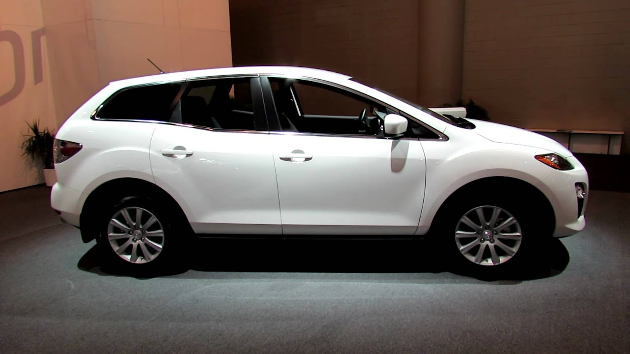 2012 mazda cx 7 exterior and interior at 2012 toronto auto. Black Bedroom Furniture Sets. Home Design Ideas