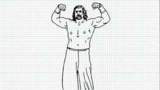 The Great khali WWE - How to draw The Great khali - Video - The Great khali  from WWE