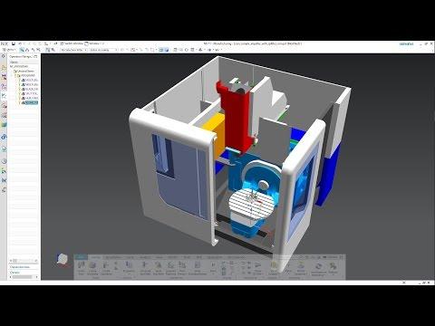 SIEMENS NX 11 - MACHINE TOOL BUILDER
