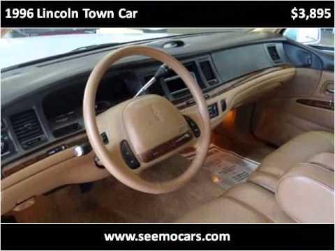 1996 Lincoln Town Car Used Cars Morgan Hill CA & 1996 Lincoln Town Car Used Cars Morgan Hill CA - YouTube markmcfarlin.com