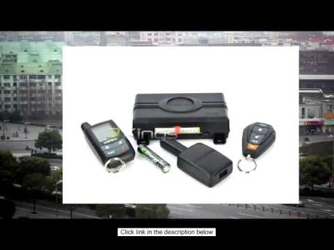 viper 3305v responder lcd 2 way security system youtube. Black Bedroom Furniture Sets. Home Design Ideas