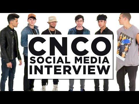 CNCO Social Media Interview   Richard Camacho Christopher Velez Joel Pimentel The Dongle Entrevista