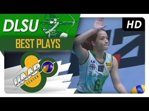 UAAP 80 WV: Michelle Cobb drops three straight aces to help DLSU sweep UP  | DLSU | Best Plays