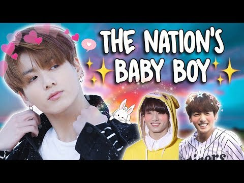 jeon jungkook, the nation's baby boy