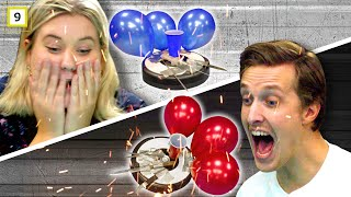 Roomba Wars - Jonas vs. Martha (Balloon battle)