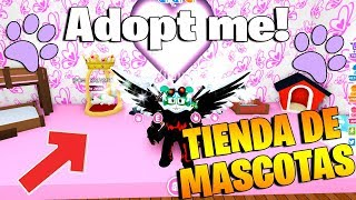 I OPEN MY PET STORE IN ADOPT ME ROBLOX!