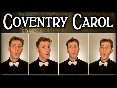 Coventry Carol / Lully Lullay - One Man Barbershop Quartet - Julien Neel