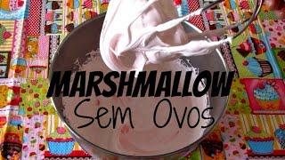 Marshmallow p/ BOLO (SEM OVOS) c/ APENAS 4 INGREDIENTES em 10 MINUTOS ! Fácil e Delicioso!!