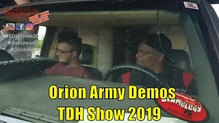 Orion Army Demos at TDH Show 2019 Basshead TV Car Audio