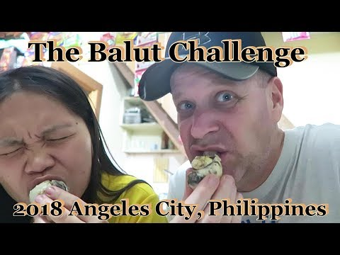 The Balut Egg Challenge : 2018 Angeles City, Philippines
