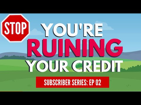 Why Scores Drop For No Reason // How To Get A FREE Credit Report!
