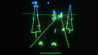 Classic Game Room HD - HYPERCHASE for Vectrex review