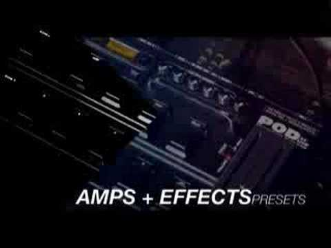Line 6 POD XT Live - Multi Effects Pedal Reviews