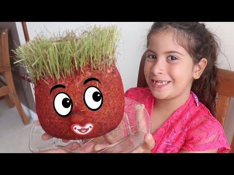 Boneco Ecológico - Cabeça De Trolls  Com Maria Clara E JP