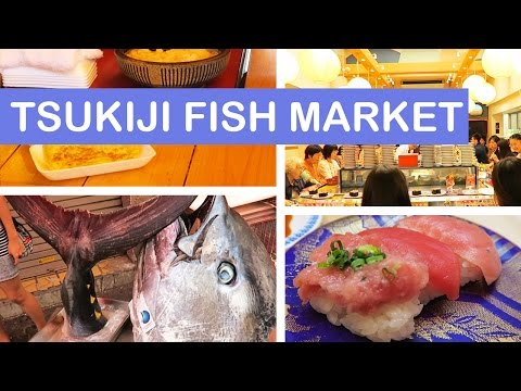 Tsukiji 築地市場 Outer Market | Sushi, Snacks & More! | TOKYO JAPAN VLOGS