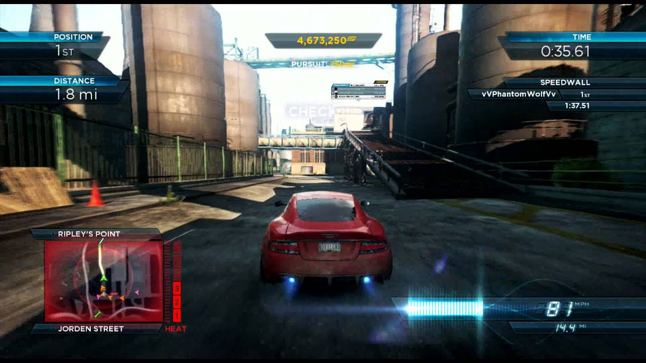 need for speed most wanted (2012) | aston martin dbs | license to