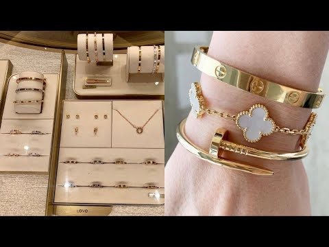 Cartier and Van Cleef and Arpels haul and unboxing | VCA earrings